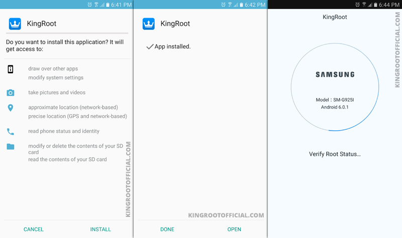Kingroot v5.0.5.20170324